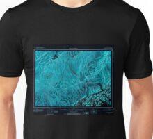 USGS TOPO Map Alaska AK Mount McKinley 361200 1952 250000 Inverted Unisex T-Shirt
