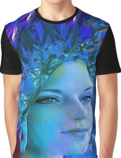 Space Crystal  Graphic T-Shirt