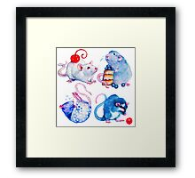 Sweet Rats Framed Print