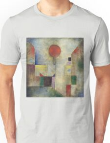 Paul Klee - Red Balloon. Abstract painting: abstract art, geometric, Balloon, composition, lines, forms, creative fusion, spot, shape, illusion, fantasy future Unisex T-Shirt