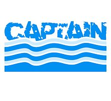 Captain water waves logo by Style-O-Mat
