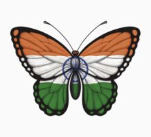 Indian Flag Butterfly Kids Clothes