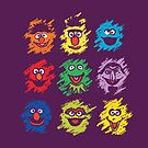 Every colors on Sesame by Budi Satria Kwan