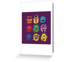 Every colors on Sesame Greeting Card