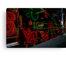 street art, melbourne. australia Canvas Print