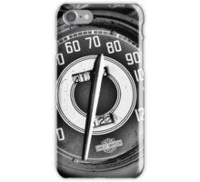 Harley Davidson speedometer iPhone Case/Skin