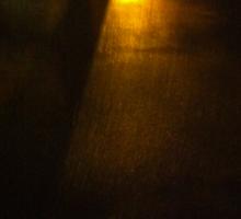 Night reflections Sticker