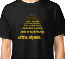 Hitchhiker's Guide to a Galaxy Far, Far Away... Classic T-Shirt
