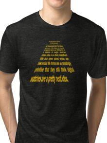 Hitchhiker's Guide to a Galaxy Far, Far Away... Tri-blend T-Shirt