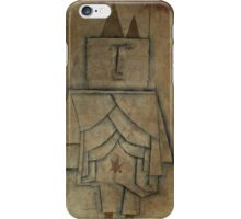 Paul Klee - Torwachterstolz. Abstract painting: abstract art, geometric,  Man , composition, lines, forms, creative fusion, spot, shape, illusion, fantasy future iPhone Case/Skin