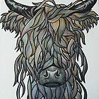 Highland Cow by carla-marie