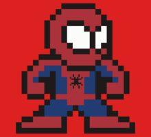 8-bit Spider-Man Kids Clothes