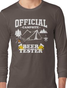 camping marshmallow get toastoed campsite Long Sleeve T-Shirt