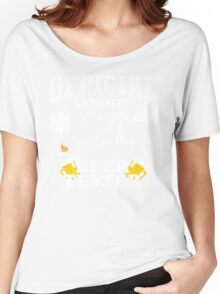 camping marshmallow get toastoed campsite Women's Relaxed Fit T-Shirt