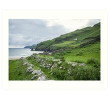 Muckross Coast, Kilcar, Co. Donegal Art Print