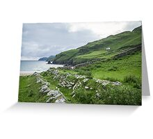 Muckross Coast, Kilcar, Co. Donegal Greeting Card