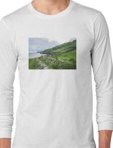 Muckross Coast, Kilcar, Co. Donegal Long Sleeve T-Shirt
