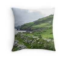 Muckross Coast, Kilcar, Co. Donegal Throw Pillow
