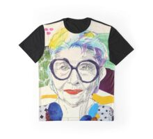 Iris Apfel fanart Graphic T-Shirt