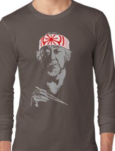 Man who catch fly with chopstick accomplish anything. Long Sleeve T-Shirt
