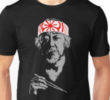 Man who catch fly with chopstick accomplish anything. Unisex T-Shirt