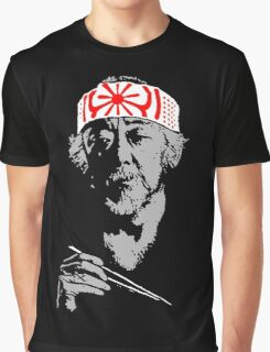Man who catch fly with chopstick accomplish anything. Graphic T-Shirt