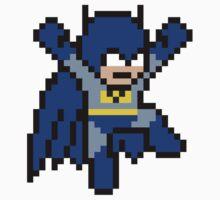 8-bit Batman (jumping) by groundhog7s