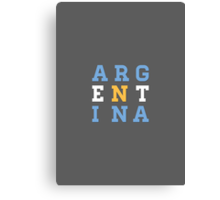 World Cup: Argentina Canvas Print