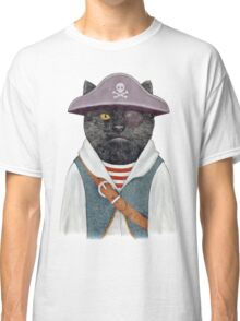 Pirate Cat Classic T-Shirt