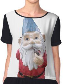 Garden Gnome Chiffon Top