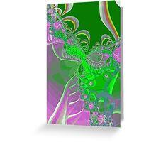 Toxic Swirl Greeting Card