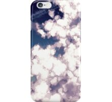 bubbly column clouds iPhone Case/Skin