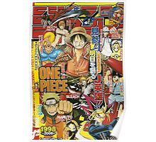 One Piece x Naruto Poster