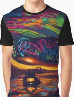 Magic Island Summer Graphic T-Shirt