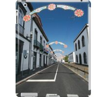 Vila Franca do Campo iPad Case/Skin