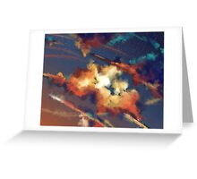 colors of the night Greeting Card