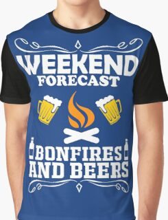 weekend camping bonfires marshmallow get toasted Graphic T-Shirt