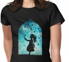 looking to the stars Womens Fitted T-Shirt