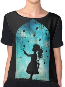 looking to the stars Chiffon Top
