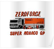 SUPER MONACO GP - ZEROFORCE TEAM Poster