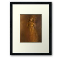 #114: Blue China Doll Framed Print