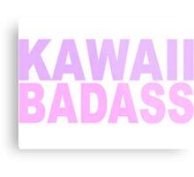 Kawaii Badass Metal Print