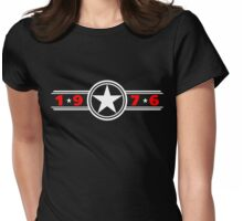 Star Years 1976 Womens Fitted T-Shirt