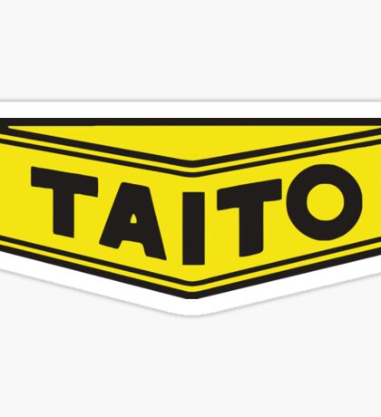 TAITO ARCADE GAMES CORPORATION Sticker