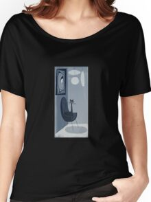 Gato Gray Women's Relaxed Fit T-Shirt
