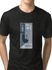 Gato Gray Tri-blend T-Shirt