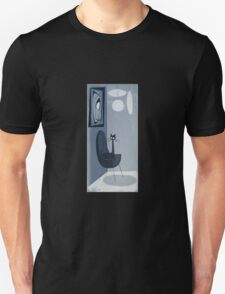 Gato Gray Unisex T-Shirt