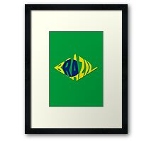 World Cup: Brazil Framed Print