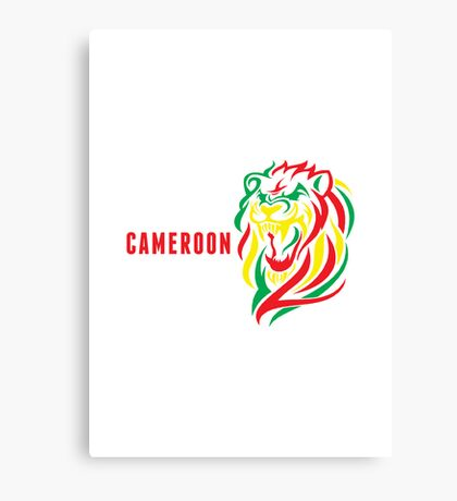World Cup: Cameroon Canvas Print