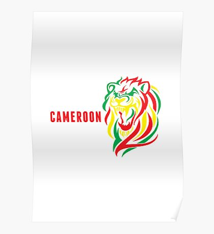 World Cup: Cameroon Poster